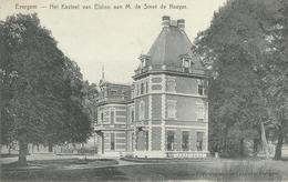 EVERGEM : Het Kasteel Van Elsloo Aan M. De Smet De Naeyer - Cachet De La Poste 1908 - Evergem
