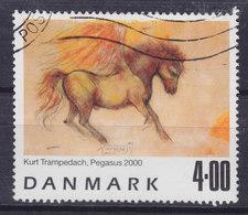 Denmark 2000 Mi. 1261     4.00 Kr Painting Gemälde Pegasus Winged Horse Pferd Cheval Kurt Trampedach - Dänemark