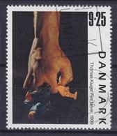 Denmark 1999 Mi. 1219     9.25 Kr Kunst Art Vier Farben Gemälde Von Painting Of Thomas Kluge - Dänemark