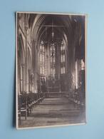 Kerk GENTBRUGGE Binnenzicht ( Fotokaart ) Anno 19?? ( Zie Foto's ) ! - Gent