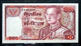 Thailand Banknote 100 Baht Series 12 P#89 SIGN#59 UNC - Thailand