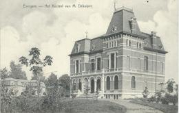 EVERGEM : Het Kasteel Van M. Dekuiper - Cachet De La Poste 1908 - Evergem