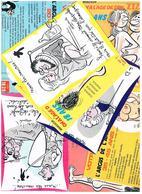 Illustrateur Alexandre  Humour Pin Up  Lot De 25 Cartes Differentes  Hu22 - Alexandre