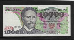 Pologne - 10000 Zlotych - Pick N°151b - SUP - Pologne