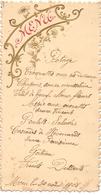 Menu - Diner - Moen 30 Aug. 1908 - Menú