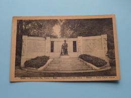 Monument Em. CLAUS Standbeeld / Statue Gand / Ghent ( Papeterie St-Amand ) Anno 1947 ( Zie Foto's ) ! - Gent
