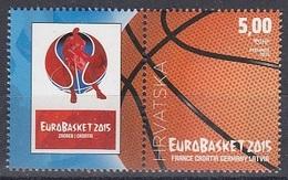 CROATIA 1025,unused,basketball - Croatie