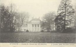 EVERGEM : Chateau De - Het Kasteel Van M. Delva - Cachet De La Poste 1906 - Evergem