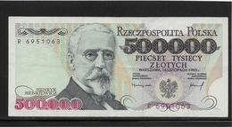 Pologne - 500000 Zlotych - Pick N°161 - SUP - Pologne