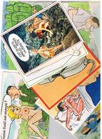 Illustrateur Alexandre  Humour Pin Up  Lot De 25 Cartes Differentes  Hu20 - Alexandre