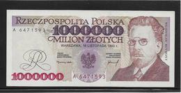 Pologne - 1000000 Zlotych - Pick N°162 - NEUF - Polonia