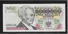 Pologne - 2000000 Zlotych - Pick N°163 - NEUF - Pologne