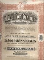 La Floridienne - 1927 - Sin Clasificación