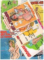 Illustrateur Alexandre  Humour Pin Up  Lot De 25 Cartes Differentes  Hu17 - Alexandre