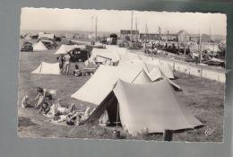 CP (14) Grandcamp-les-Bains - Camp Des Campeurs Et Un Coin Du Port - France