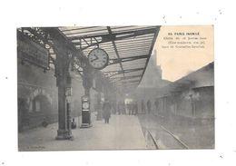 11185 - PARIS INONDE : Gare De COURCELLES LEVALLOIS - De Overstroming Van 1910