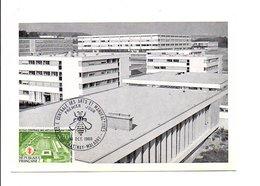 CARTE MAXIMUM 1969 MANUFACTURE CENTRALE ARTS ET METIERS CHATENAY MALABRY - Cartes-Maximum