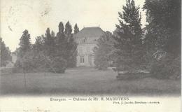 EVERGEM : Chateau De MR. R . Maertens - Cachet De La Poste 1906 - Evergem