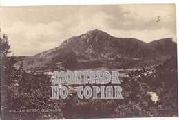 Volcan Cerro Quemado, Postal Antigua - Guatemala