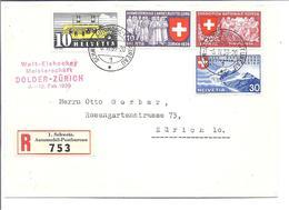 SUISSE SCHWEIZ ZH 1939 Welt-Eishockey Meisterschaft - Championnats Du Monde Hockey Sur Glace - Hockey (sur Glace)