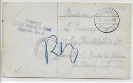 PRISONNIERS DE GUERRE KRIEGSGEFANFENENPOST - 1917 - ENVELOPPE Du STALAG De PREUSSISCH HOLLAND => MARSEILLE - Storia Postale