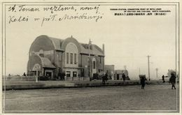 China, TAONAN 洮南市, Manchukuo, Railway Station (1930s) Postcard - China
