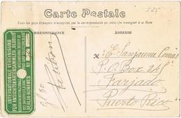 33148. Postal NOGENT Le RETROU (Eure Et Loir) 1914. Label, Vignette GLOBE Society - Storia Postale