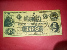 CONFEDERATE THE STATE OF VIRGINIA RICHMOND 100 DOLLARS ONE HUNDRED DOLLARS USA 1862 Reproduction - Confederate Currency (1861-1864)