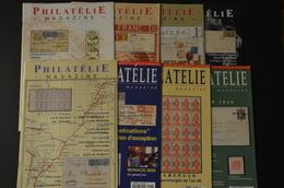Philatélie Magazine (éditeur S. Boule) N° 1 à 8 Excellent état (9 Scan) - French