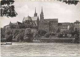 W3492 Basel Bale - Pfalz - Munster Cathedrale / Viaggiata 1956 - BS Bâle-Ville