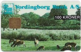 Denmark - Danmønt - Deer Animals - DD027 - 100Kr. Exp. 04.1995, 1.233ex, Used - Denmark