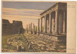 W3493 Mérida - Teatro Romano - Illustrazione Illustration Dandolo Bellini / Non Viaggiata - Mérida
