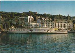 """Evian Les Bains Le """"Vevey"""" Au Port - Evian-les-Bains"""