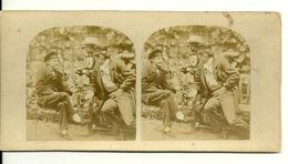 PHOTO STEREOTYPE SUR SUPPORT CARTON - Anciennes (Av. 1900)