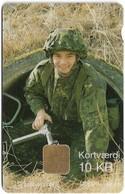 Denmark - Danmønt - Out Of The Tube Army - DB033 - 10Kr. Exp. 08.1997, 1.500ex, Used - Denmark