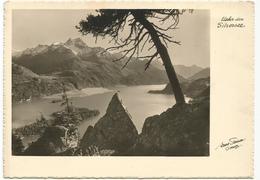 W3494 Ueber Dem Silsersee / Non Viaggiata - GR Grisons