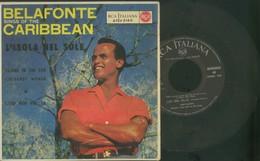 HARRY BELAFONTE -L'ISOLA NEL SOLE -ISLAND IN THE SUN -DISCO VINILE 45 GIRI - Sonstige - Italienische Musik