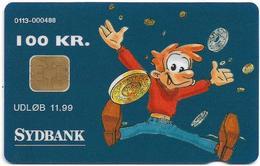 Denmark - Danmønt - Sydbank (Cartoon) - DD091J - 100Kr. Exp. 11.1999, 2.050ex, Used - Denmark