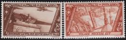 Italia   .  Yvert    .    Airmail  39/40       .     **  .     MNH  .   /  .   Neuf SANS  Charniere ** - 1900-44 Vittorio Emanuele III