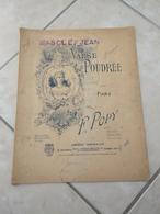 Valse Poudrée, En Repliant Vos Lettres -(Musique Francis Popy, Masson Kiek)- Partition (Piano) 1906 - Instruments à Clavier