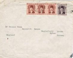33152. Carta CAIRO (Egypt) 1938 To England - Egipto