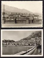 MONACO: Beau Lot De 2 Cartes Photos Inhabituelles. SUPERBE - Port
