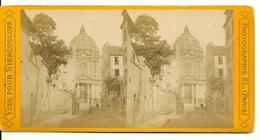 PHOTO STEREOTYPE SUR SUPPORT CARTON / PARIS - LE VAL DE GRACE - Anciennes (Av. 1900)