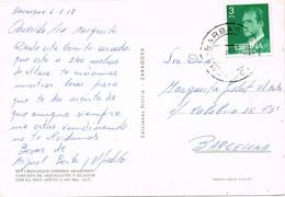33153. Postal BENASQUE (Huesca) 1978. Fechador BARBASTRO - 1931-Hoy: 2ª República - ... Juan Carlos I