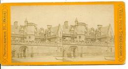 PHOTO STEREOTYPE SUR SUPPORT CARTON / PARIS - MUSEE DE CLUNY - Anciennes (Av. 1900)