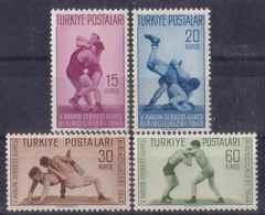 AC - TURKEY STAMP -  The 5th EUROPEAN WRESTLING CHAMPIONSHIPS MNH 03 JUNE 1949 - Ungebraucht