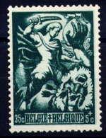 BELGIQUE - 654* - BRABO COUPANT LA MAIN DU GEANT ANTIGOON - Unused Stamps