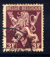 BELGIQUE - 686A° -LION HERALDIQUE SUR LE V DE LA VICTOIRE - Gebruikt