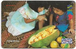Malaysia (Uniphonekad) - Cempedak, Malaysian Fruit, 29MSAA, 1992, 800.000ex, Used - Malaysia