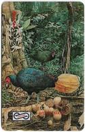 Malaysia (Uniphonekad) - Crestless Fireback Bird, 15MSAB, 1992, 1.295.000ex, Used - Malaysia